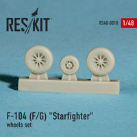 "Lockheed F-104 F/G""Starfighter"" wheels set - Image 1"