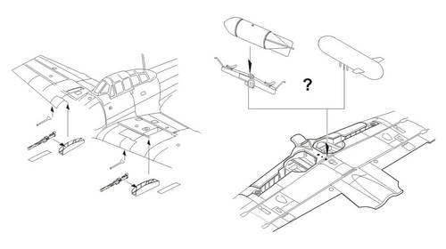 A6M5 / A6M5a Zero - Armament set & conversion 1/72 for Tamiya kit - Image 1