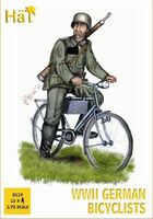 WWII German on bicycles - Image 1