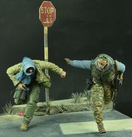 """On the run"" - The War Correspondent Set, Modern Times - Image 1"