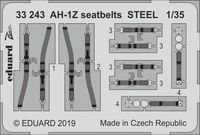 AH-1Z seatbelts STEEL ACADEMY