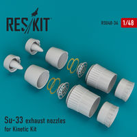 Su-33 exhaust nozzles for Kinetic Kit
