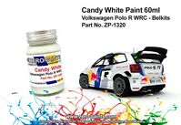 1320 Candy White Volkswagen Polo R WRC