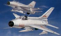 Chinese jet fighter F-7II