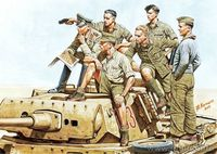 Rommel and German Tank Crew (DAK, 1941-1943)