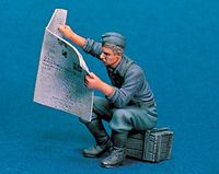 """READING NEWSPAPER"" - Image 1"