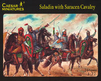 Saladin with Saracen Cavalry