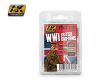 AK 3080 WWI British Uniforms Set