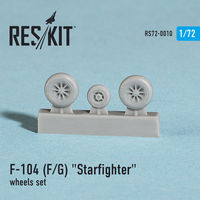 "Lockheed  F-104 (F/G) ""Starfighter"" wheels set - Image 1"