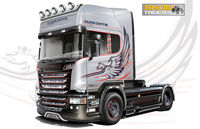 SCANIA R730 V8 STREAMLINE SILVER GRIFFIN