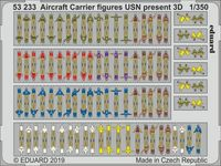 Aircraft Carrier figures USN present 3D
