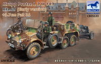 Krupp Protze L2 H 143 Kfz.69 (early version) with 3.7cm Pak 36