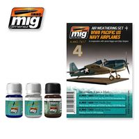 A.MIG 7417 WWII Pacific US Navy Airplanes  - In cooperation with Jamie Haggo and Diejo Quijano Set