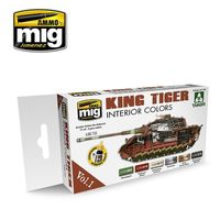 A.MIG 7165 KING TIGER INTERIOR COLOR (SPECIAL TAKOM EDITION) VOL.1 Set