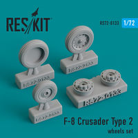 F-8 Crusader Type 2 wheels set
