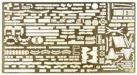 QG16 IJN Battleship NAGATO Basic Parts Set B