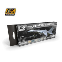 AK 2050 US Modern Aircraft Colors vol.1 Set