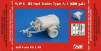 WW II. US Fuel Trailer Type A-3
