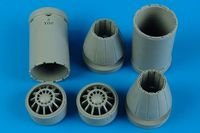 F/A-18E/F exhaust nozzles - closed Trumpeter