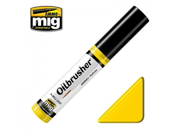 A.MIG 3502 OILBRUSHERS AMMO YELLOW - Image 1