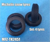 Michelin snow tyres 4 pieces
