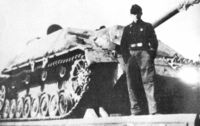 Jagdpanzer IV Upper Hull with concrete armor - Image 1