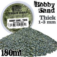 Thick Sand - Dark Grey Colour