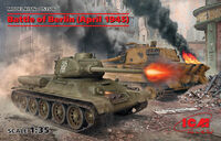 Battle of Berlin (April 1945) - T-34-85, King Tiger - Image 1