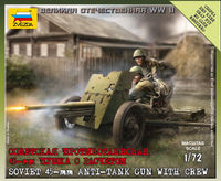 Soviet Anti-Tank Gun 45 mm M1937 (53-K) Art of Tactic