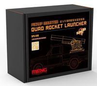 Pick-Up Mounted Quad Rocket Launcher