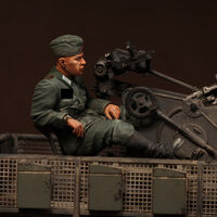 German antiaircraft gunner
