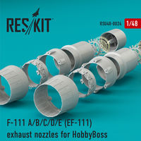 F-111 A/B/C/D/E (EF-111) exhaust nozzles for HobbyBoss KIT - Image 1