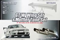GT-W Wing Set and Muffler Tune Set