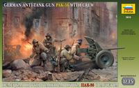 German anti-tank gun PAK-36 (3,7cm) with crew