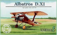 Albatros D.XI first prototype