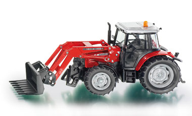 Tractor with Front Loader - Image 1