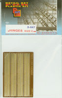 Hinges (size C) 0,4mm - Image 1