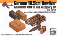 German 10.5 cm Ammo and Accessories