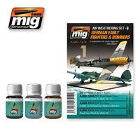 A.MIG 7414 German Early Fighters & Bombers - In cooperation with Jamie Haggo and Diejo Quijano Set