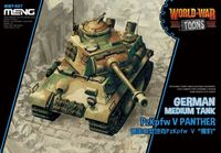 PzKpfw Panther - World War Toons