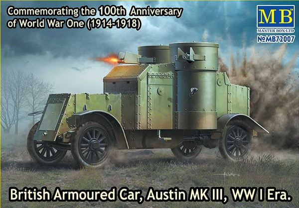 British Armoured Car, Austin, MK III, WW I Era  - Image 1