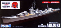 IJN Destroyer Akizuki FULL HULL