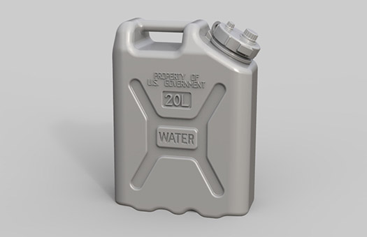 US Military Water Canisters - Image 1
