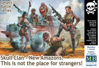 "Skull Clan - New Amazons ""This is not the place for strangers!"" Desert Battle Series"