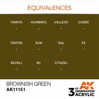 AK 11151 Brownish Green