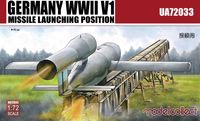 Germany WWII V1 Missile launching position 1+1