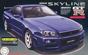 Nissan Skyline GT-R (R34) with Car Name Plate - Image 1