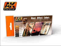AK 551 Rust Effect Colors Set
