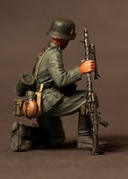 German machine gunner. 1939-42