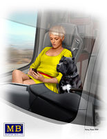 Truckers series. Joni (Lookout) Johnson & her dog Maxx / - Image 1